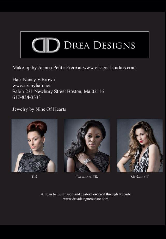 Drea Designs Couture Magazine Article