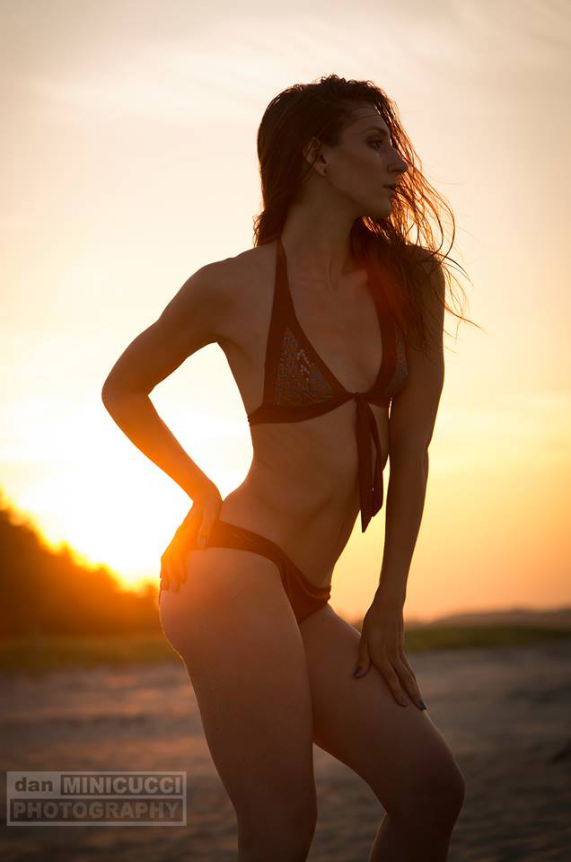 Glamour Dan Minicucci Photography Sun And Sand Sunset Bikini