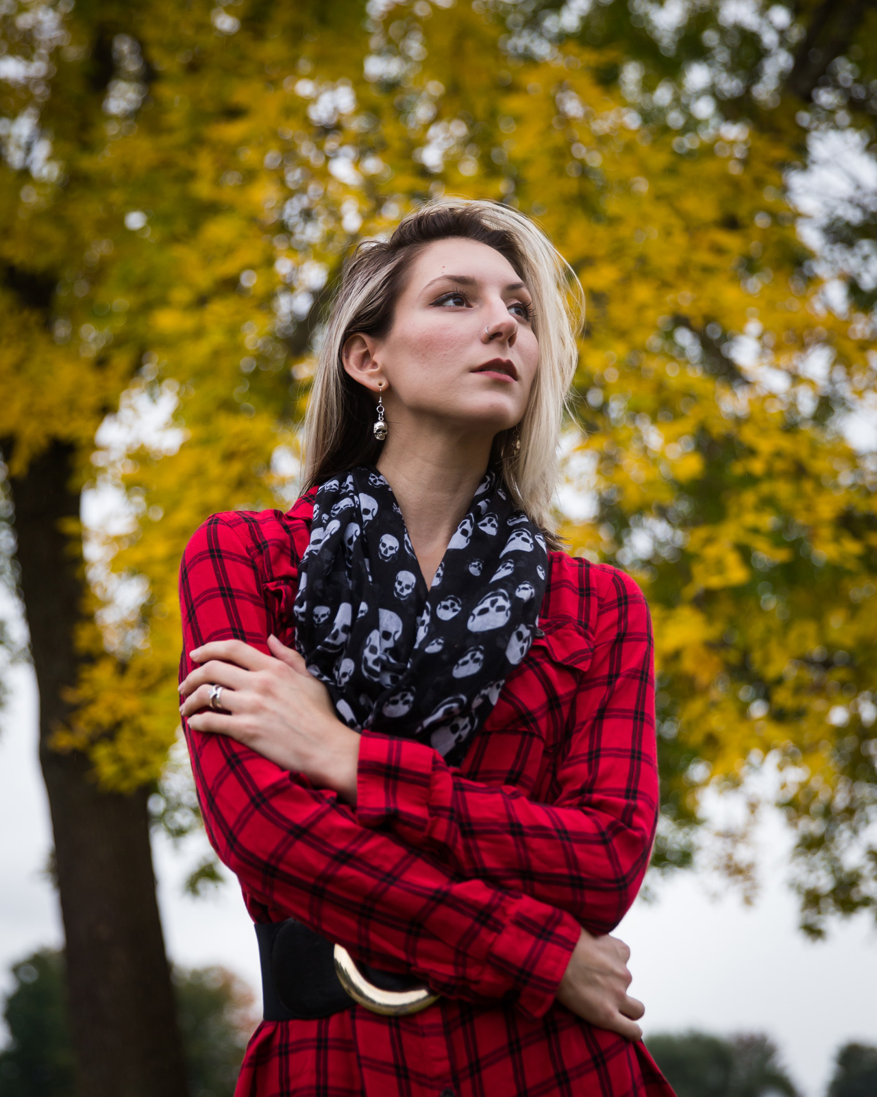 new england, fall, plaid, flannel, red, marralicious